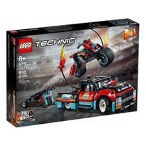 LEGO Technic - Motocicleta e Caminhão de Acrobacias -