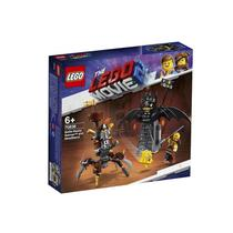 Lego The Movie Batman E Barba De Ferro Prontos Para Combate 70836