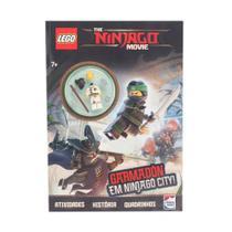 Lego the ninjago movie: garmadon em ninjago city - Happy Books