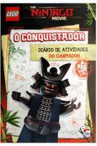Lego the ninjago movie: o conquistador - diário de atividades do garmadon - Happy Books