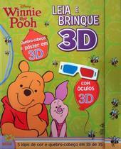 Leia e brinque 3D: Disney - Winnie the Pooh - Dcl
