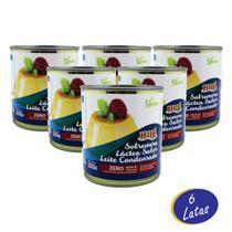 Leite Condensado Diet Zero açúcar E Sem Glúten 335g - Hué - 6 Unidades - Hué Alimentos