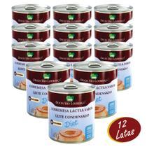 Leite Condensado Diet Zero Açúcar Sem Glúten 335g Caixa com 12 Unidades Doces São Lourenço -