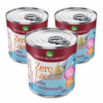 Leite Condensado Diet Zero Açúcar Sem Lactose Sem Glúten 335g Caixa com 3 Unidades - Doces São Lourenço