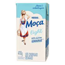 Leite condensado light Moça Nestlé 410g -