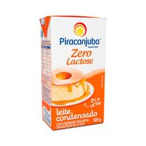 Leite Condensado Piracanjuba 0 Lactose 395g -