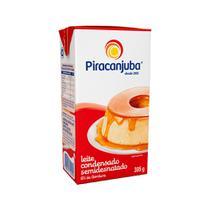 Leite Condensado Piracanjuba Semidesnatado 6% Gordura 395g -
