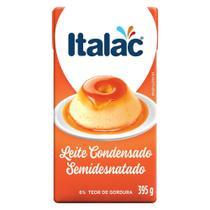 Leite Condensado Semidesnatado 395g - Italac - Diversos -