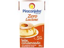 Leite Condensado Zero Lactose Piracanjuba 395g -