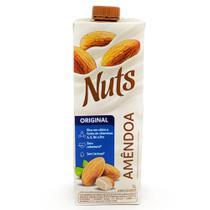 Leite de Amêndoa Nuts Original vegano 1 Litro - Ebba