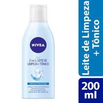 Leite De Limpeza + Tônico Nivea 2 Em 1 - 200ml - Nívea