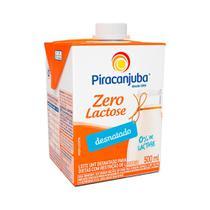 Leite Desnatado Piracanjuba 0 Lactose 500ml -