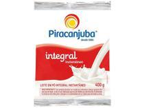 Leite em Pó de Vaca Integral Piracanjuba - Instantâneo 400g -