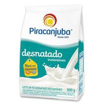 Leite em Pó Piracanjuba Desnatado Instantâneo Pouch 600g -