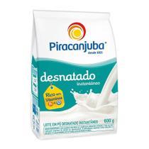 Leite em Pó Piracanjuba Desnatado Sachê 600g -