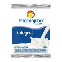 Leite Em Pó Piracanjuba Integral 400g -