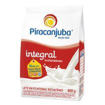 Leite em Pó Piracanjuba Integral Instantâneo Pouch 800g -