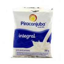 Leite em Pó Piracanjuba Integral Sachê 200g Embalagem c/ 50 Unidades -
