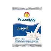 Leite em Pó Piracanjuba Integral Sachê 400g -