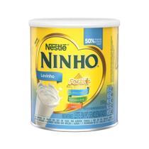 Leite em Pó Semi Desnatado Ninho Levinho Forti+ Lata 350g - Nestlé