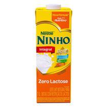 Leite Ninho Integral Forti+ Zero Lactose 1 Litro -