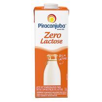 Leite Piracanjuba Semidesnatado Zero Lactose 1 Litro -