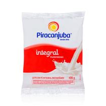 Leite Pó Piracanjuba Integral Instantâneo Fonte Cálcio 400g -