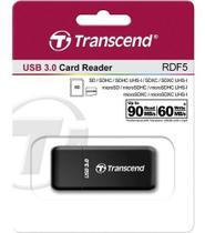 Leitor De Cartão De Memória Sd Micro Transcend Usb 3.0 Rdf5 -