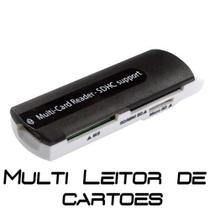 Leitor de Cartão Multi-Card Reader SDHC Support USB 2.0/1.1 - Wmt