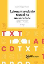 Leitura e produção textual na universidade - Mackenzie -
