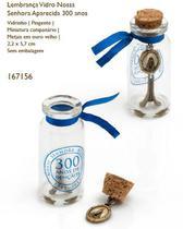 Lembrança vidro nossa senhora aparecida 300 anos - Armazem