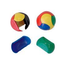 Lembrancinha Brinquedo Bola Quebra Cabeça 02 unidades - Festabox