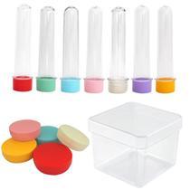 Lembrancinha kit com tubete latinha caixinha 30 de cada - RN EMBALAGENS