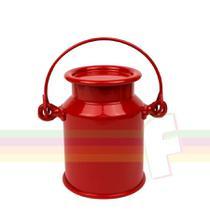 Lembrancinha Leiteira Vermelha 400 ml - Festabox