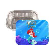 Lembrancinha Marmitinha Personalizada Ariel - Aluá festas