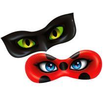 Lembrancinha Máscara Miraculous Ladybug 06 unidades Regina Festas -
