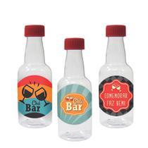 Lembrancinha Mini Garrafinha Chá Bar 50ml 10 unidades - Festabox