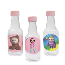 Lembrancinha Mini Garrafinha Festa Infantil Rainbow Ruby 50ml 10 unidades - Festa Box