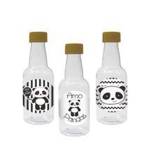 Lembrancinha Mini Garrafinha Tampa Panda 50ml 10 unidades - Festabox