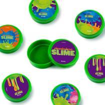 Lembrancinha Mini Latinha Festa Infantil Slime 10 unidades - Festabox