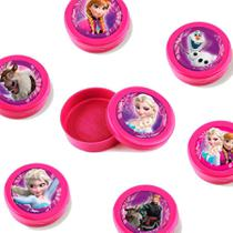 Lembrancinha Mini Latinha Frozen  10 unidades - festabox