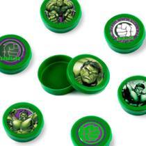 Lembrancinha Mini Latinha Hulk 10 unidades - Festabox