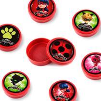 Lembrancinha Mini Latinha Miraculous   Ladybug 10 unidades - Festabox