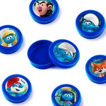 Lembrancinha Mini Latinha Smurfs  10 unidades - Festabox