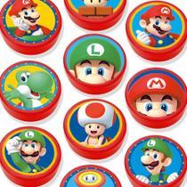 Lembrancinha Mini Latinha Super Mario - 10 unidades - Extra Festas