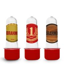 Lembrancinha Mini Tubete Tubo de Ensaio Brahma 10 unidades - Festcolor