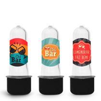 Lembrancinha Mini Tubete Tubo de Ensaio Chá Bar 10 unidades - Festabox