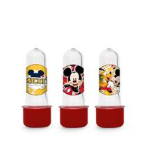 Lembrancinha Mini Tubete Tubo de Ensaio Mickey Clássico 10 unidades - Festabox