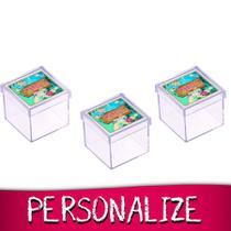 Lembrancinha Personalizada Mini Caixa de Acrílico Moana 16 unidades - Festabox