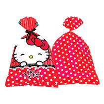 Lembrancinha Sacola Surpresa Hello Kitty 08 unidades Festcolor - festabox